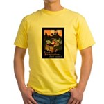 Food is Ammunition Poster Art Yellow T-Shirt
