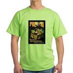 Food is Ammunition Poster Art Green T-Shirt