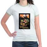 Food is Ammunition Poster Art Jr. Ringer T-Shirt