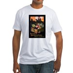 Food is Ammunition (Front) Fitted T-Shirt