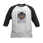 Enlist in the Navy Poster Art Kids Baseball Jersey