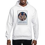Enlist in the Navy Poster Art Hooded Sweatshirt