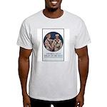 Enlist in the Navy Poster Art Ash Grey T-Shirt