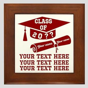 Class of 20?? Framed Tile