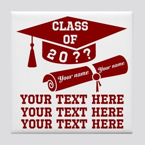 Class of 20?? Tile Coaster