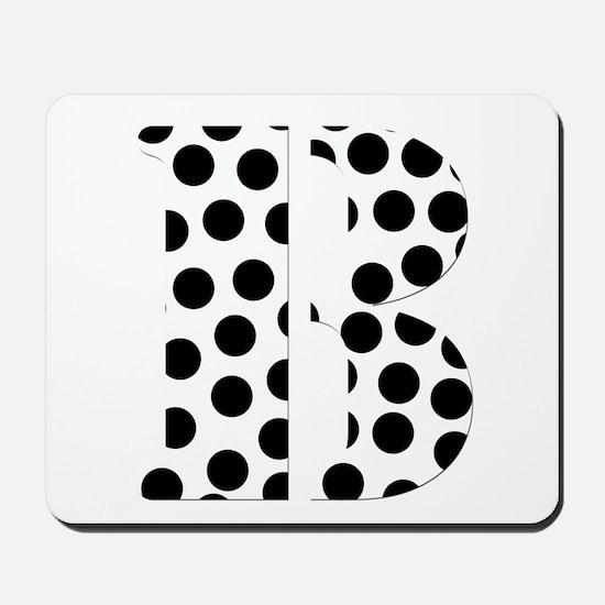 The Letter 'B' Mousepad