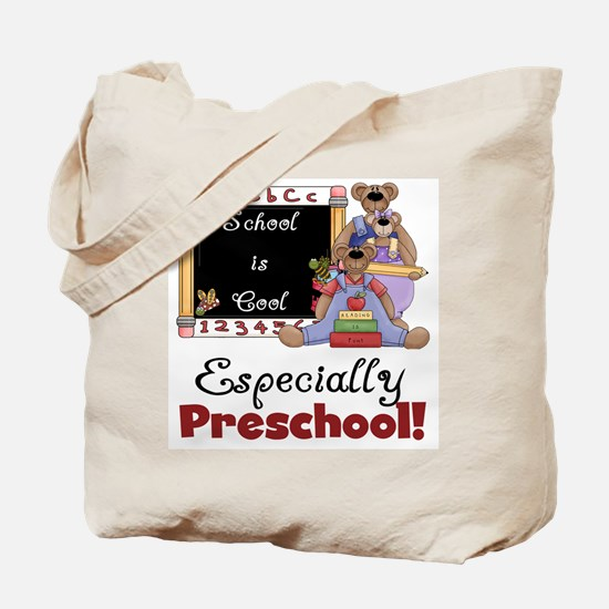 Preschool School is Cool Tote Bag