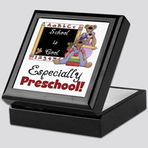 Preschool School is Cool Keepsake Box