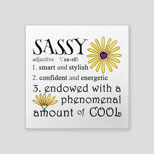 Sassy Definition Sticker