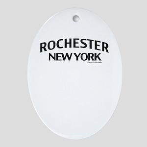 Rochester Ornament (Oval)