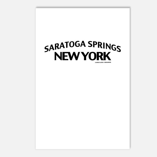 Saratoga Springs Postcards (Package of 8)