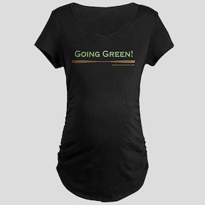 Going Green Maternity Dark T-Shirt