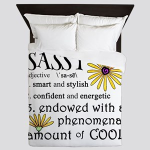 Sassy Definition Queen Duvet