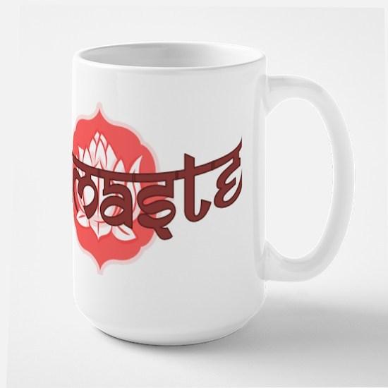 Namaste Lotus Large Mug
