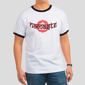 Namaste Lotus Ringer T