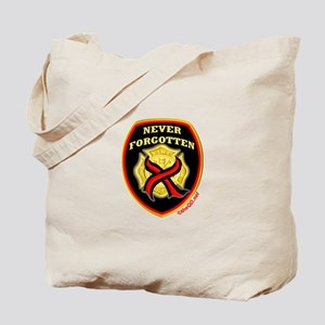 Thin Red Line NeverForgotten Tote Bag