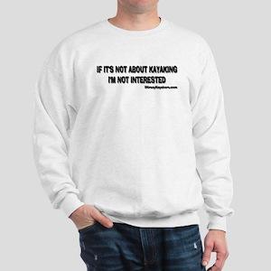Not Interested Sweatshirt