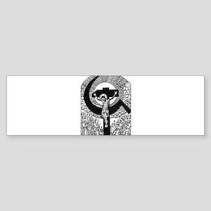 Jesus was a Communist Bumper Sticker