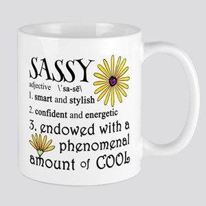 Sassy Definition Mugs