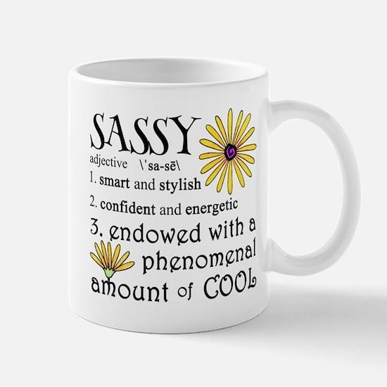 Sassy Definition Mugs