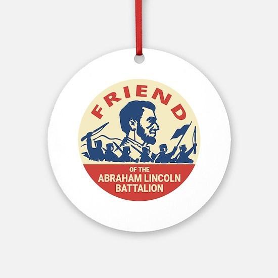 Cute Fascist Round Ornament