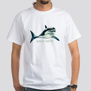 Great White White T-Shirt