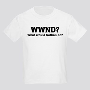 What would Nathan do? Kids T-Shirt