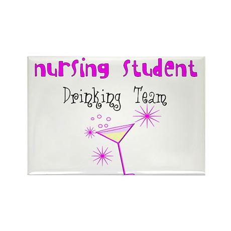 More Student Nurse Rectangle Magnet
