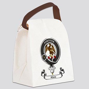 Badge - Allen Canvas Lunch Bag
