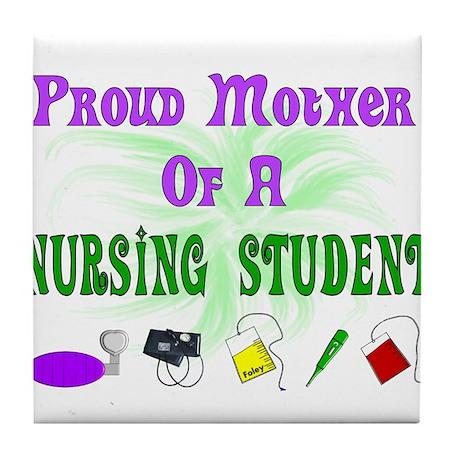 More Student Nurse Tile Coaster