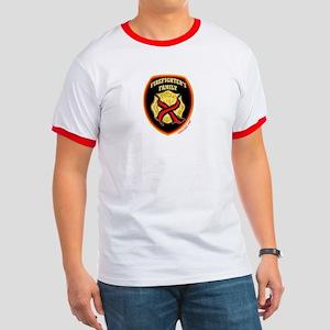 ThinRedLine FirefighterFamily Ringer T