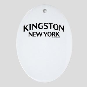 Kingston Ornament (Oval)