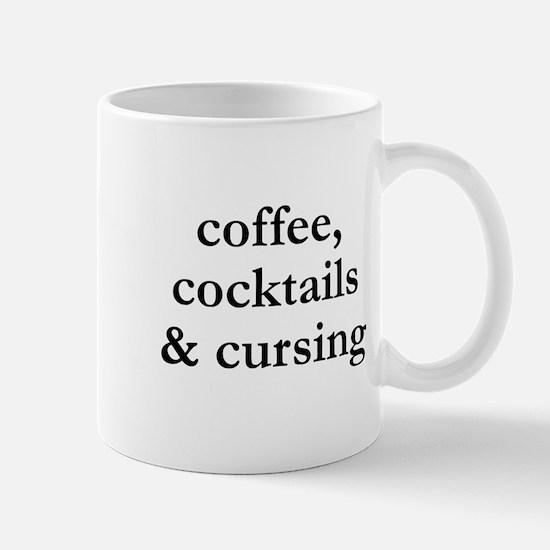 Coffee Cocktails and Cursing Mug