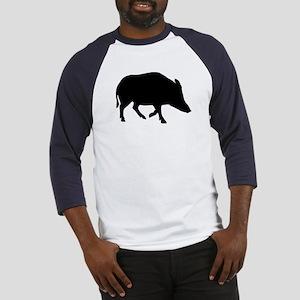 Wild pig - boar Baseball Jersey