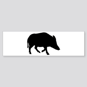 Wild pig - boar Sticker (Bumper)