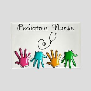 Pediatric Nurse Rectangle Magnet