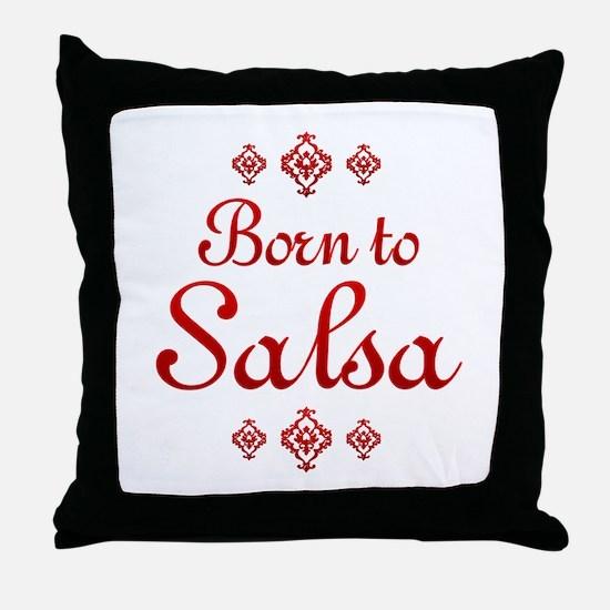 Salsa Throw Pillow