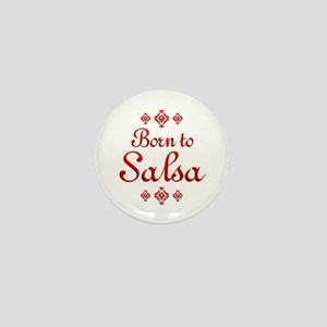 Salsa Mini Button