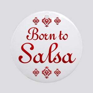Salsa Ornament (Round)