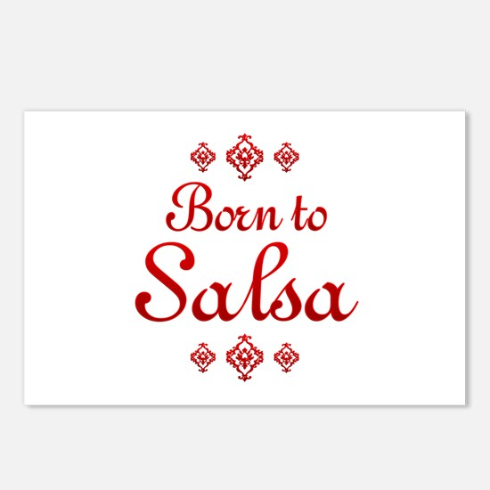 Salsa Postcards (Package of 8)