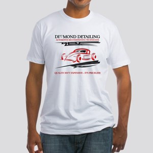Professional automotive detailing Fitted T-Shirt