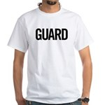 Guard (black) White T-Shirt