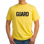 Guard (black) Yellow T-Shirt