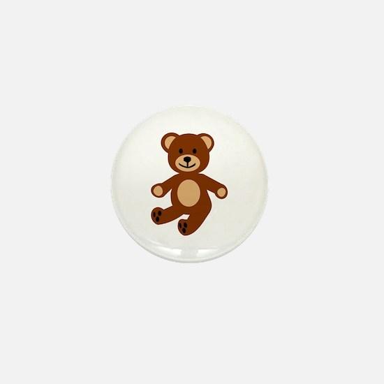 Teddy bear Mini Button