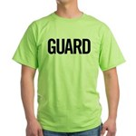 Guard (black) Green T-Shirt