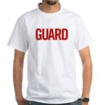Guard (red) White T-Shirt