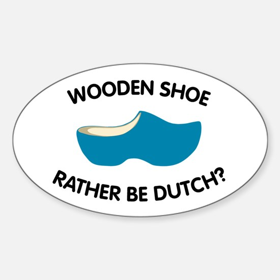 Unique Holland Sticker (Oval)