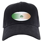 Flag Irish Pride Shamrock Black Cap