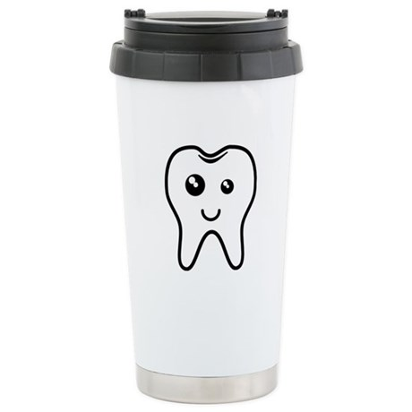 The Tooth Stainless Steel Travel Mug