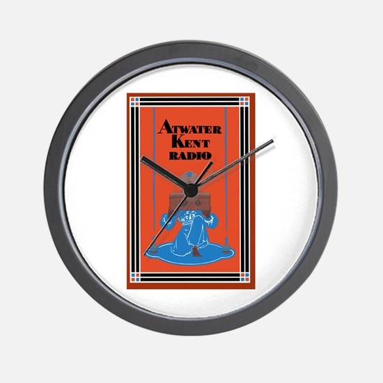 Atwater Kent Radio Wall Clock